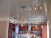 Натяжной потолок в кухню 1