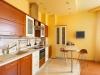 Натяжной потолок в кухню 4