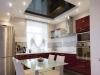 Натяжной потолок в кухню 12