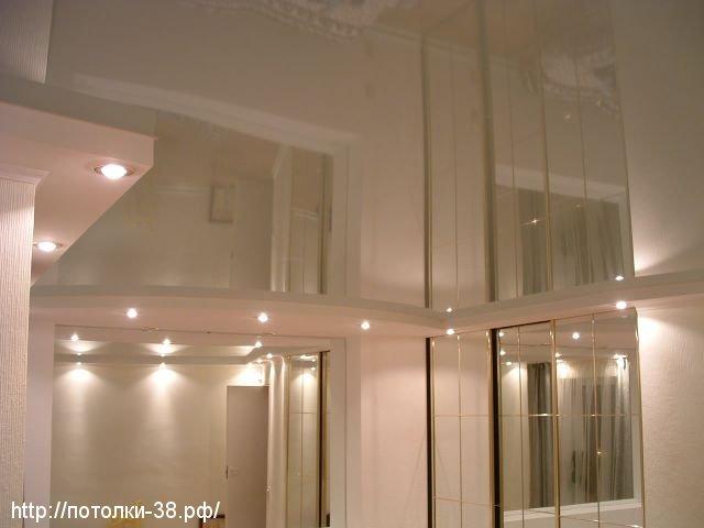 Натяжной потолок в гостинную 5