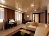 Натяжной потолок в гостинную 4