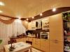 Натяжной потолок в кухню 5