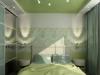 Натяжной потолок в спальне 1
