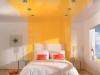 Натяжной потолок в спальне 3