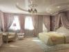 Натяжной потолок в спальне 5
