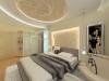 Натяжной потолок в спальне 9