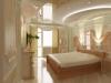 Натяжной потолок в спальне 11