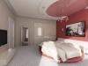 Натяжной потолок в спальне 12